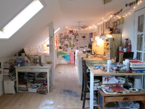 Stephanie Todhunter's studio