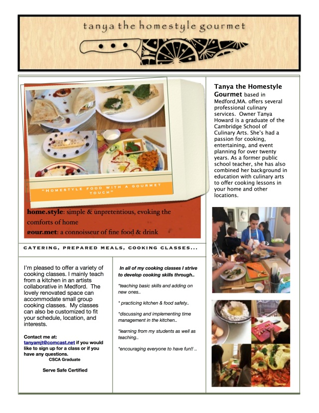 homestyle gourmet spring '17