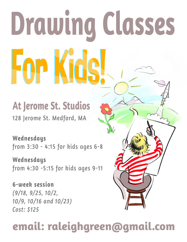 Drawing Class Fall 2019